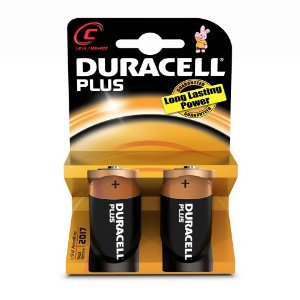 Mezze Torce Duracell Plus C