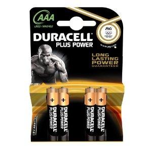 Ministilo Duracell Plus Pover AAA
