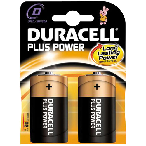 Torce Duracell Plus D