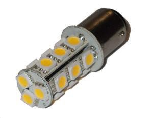 LAMPADINA 18 LED BA15D 10-30V