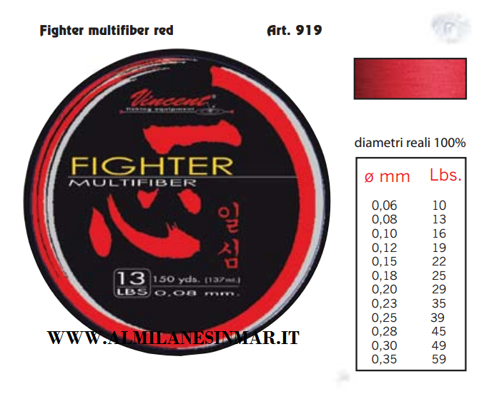 FIGHTER MULTIFIBRA mt 137