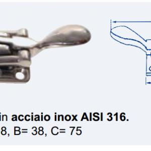 CHIUSURA INOX 316