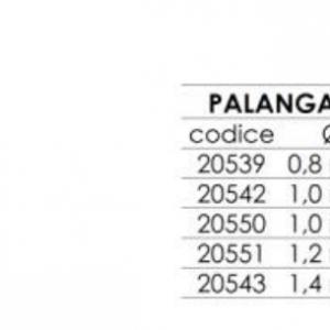 PALANGARO CON 100 GIRELLE PRONTO